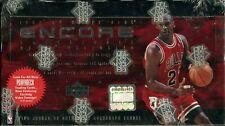 1998-99 Upper Deck Encore Factory Sealed Box. Michael Jordan Autograph?