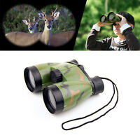 Kids Toy Telescope Night Vision Surveillance Compass Binoculars W/ Neck  New NEW