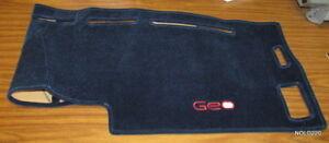 NEW GM 12350293 GEO Dashboard Cover, Mat BLUE OEM (J1667 DS653)