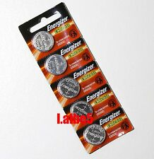 Energizer CR2032 CR 2032 3V Button Coin Cell Battery x 5pcs Genuine