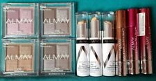 10 new Almay Quad Eye Shadows, Color and Care Lip Oil Lipsticks, Concealers