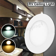 12V LED RV Camper Trailer Light Boat Interior Ceiling Recessed Down Dome Light
