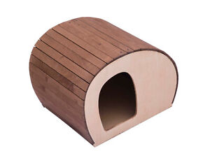 Doghouse for Dogs and Cats Of Slice Small for Indoor Wooden Plywood Pet013