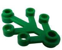 Lego 10 Stück Pflanze in grün 4x3 (2423) Blätter grüne Pflanzen Baum Bäume Neu