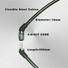 Bike Bicycle Motorbike Combination Cable Lock Anti Thief Security 4 Digit US