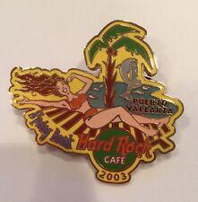 Hard Rock Cafe 2003 Puerto Vallarta Spring Break Bikini Girl Dolphins Palm Pin