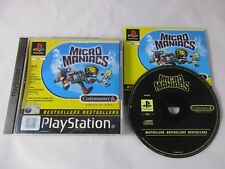 MICRO MANIACS - SONY PLAYSTATION - Jeu PS1 PAL FR Complet