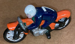 Cast Iron Racing Motorcycle Toy