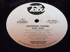 """General Caine: Ooh, Aah 12"""""""