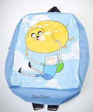 CUTE NEW Adventure Time Finn And Jake Blue MINI Backpack Balloon Tote Bag Purse