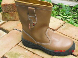 Great Value Fur Lined Safety Rigger Work Boot