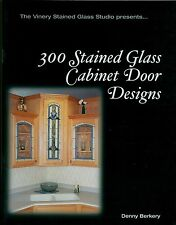 LOOK! 300 Stained Glass Cabinet Door Window Book, Bevel Victorian Prairie more..