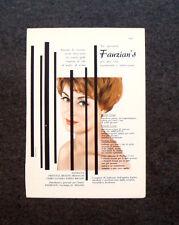 M465- Advertising Pubblicità -1960-  FAUZIAN'S ORIENTAL BEAUTY PRODUCTS