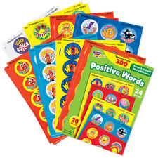 Scented 300 Positive Words Reward Stickers - Scratch n Sniff Variety - 20 Sheets