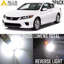 Alla Lighting 39-LED Back-Up Light T20 Reverse Bulb Backup Lamp for Honda, White