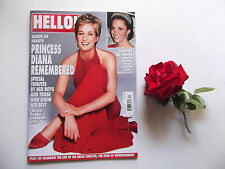 Princess Diana 20th Anniversary Hello Magazine Special from England NEW