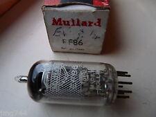 EF86 Mullard Holland NUOVO VECCHIO STOCK VALVOLA TUBE 1pc G14