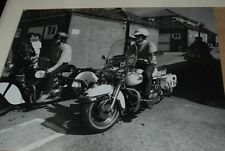 indian chief  motorcycle original photograph dated 1984 brighton rally