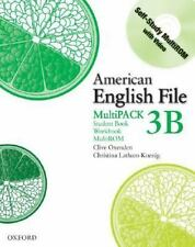 American English File Level 3 Student and Workbook Multipack B by Oxenden, Cliv