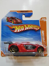HOT WHEELS 2010 TRACK STARS IMPAVIDO 1 SHORT CARD