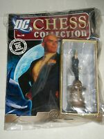 DC EAGLEMOSS CHESS FIGURE COLLECTION #38 LEX LUTHOR BLACK KING