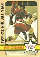 1972-73 Topps Hockey 1971-72 NHL All-Star Yvan Cournoyer Montreal Canadiens #131