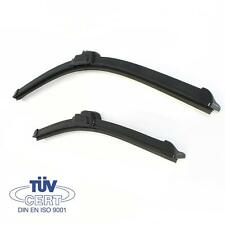 "For Audi A4 1991-94  21"" 20"" Dynamic Wiper Blades Aero Flat Windscreen U-Hook"