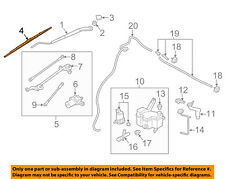 Chevrolet GM OEM 2015 City Express Wiper Arm-Front Blade 19316483