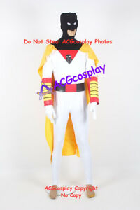 Space Ghost cosplay costume dc comics include head mask and arm covers