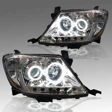 FRONT LAMP CLEAR LEN HEADLIGHT PROJECTOR FOR TOYOTA HILUX VIGO MK6 2005-2011