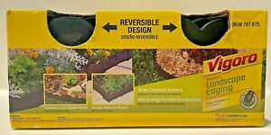 Vigoro Pound In Landscape Edging 20 Linear feet Reversible Design