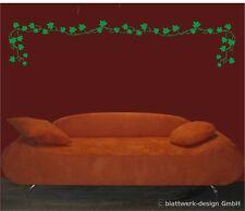 Wandaufkleber-Wandtattoo - Rankenset, Efeu, Dekoration, zur freien Anordnung