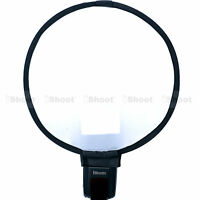 Easy-fold Round Mini Flash Softbox Diffuser Reflector for Pentax Metz Speedlite