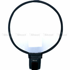 30cm Comprima Rotonda Mini Flash Softbox Diffusore Riflettore per Sony Olympus