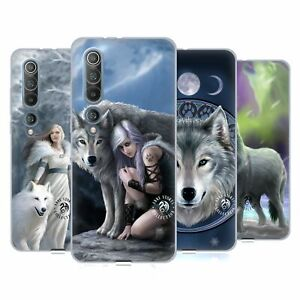 OFFICIAL ANNE STOKES WOLVES GEL CASE FOR XIAOMI PHONES