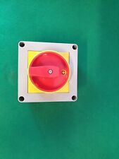 CED Interrupteur Rotatif Isolateur 25 Amp 4 Pôle RS254