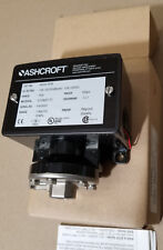 NEW Ashcroft B424V XFM 15A 125 250 480 vac 1/2A 125vdc Range 15 psi Proof 500psi