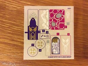 New Lego Elves Sticker Sheet Replacement from set 41078