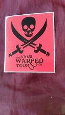 Vans Genuine Warped Tour '02 Vintage Skateboard Sticker