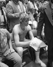 1979 Indiana State LARRY BIRD vs Michigan State Glossy 8x10 Photo Championship
