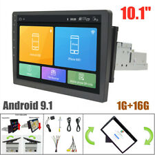 "Android 9.1 Rotable 1G+16G Car GPS MP5 Player 10.1"" Horizontal/Vertical Screen"