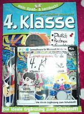 Mein Spaß- und Lernbuch*Klasse 4*Deutsch,Mathe,Sachkunde*mit CD+Lösung*Software