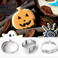 Halloween Pumpkin Biscuit Pastry Cookie Cutter Fondant Cake Decoration Mold Tool
