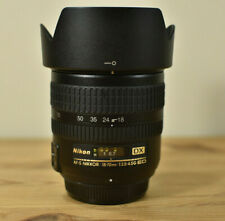 NIKON DX AF-S NIKKOR 18-70MM 1:3.5-4.5G ED LENS WITH LENS CAPS & HOOD