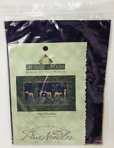 At Home in the Woods Pine Meadow McKenna Ryan Art Quilt Kit Pattern + Fabric NIP