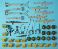 Lot 1982 GI Joe Straight Arm Figure Battle Gear Accessory Pack Weapons Backpacks