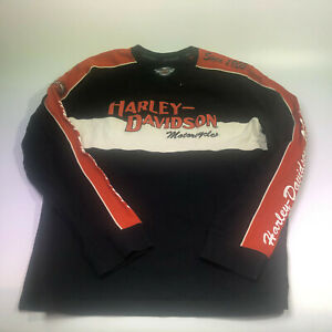 Mens's Harley Davidson long sleeve Shirt, Large, pre-owned, READ