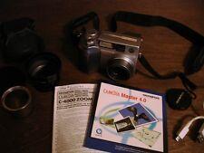 Olympus Camedia C-4000 Digital Camera 4 Megapixels w/ manuals 16 MB Card Works