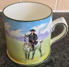 """rare THE OUT RIDER ROYAL DOULTON BLUE SKY COACHING SCENES 2.75"""" TANKARD CUP"""