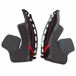 Shoei Type N Cheek Pads Black For GT-Air II Motorbike Motorcycle Helmets